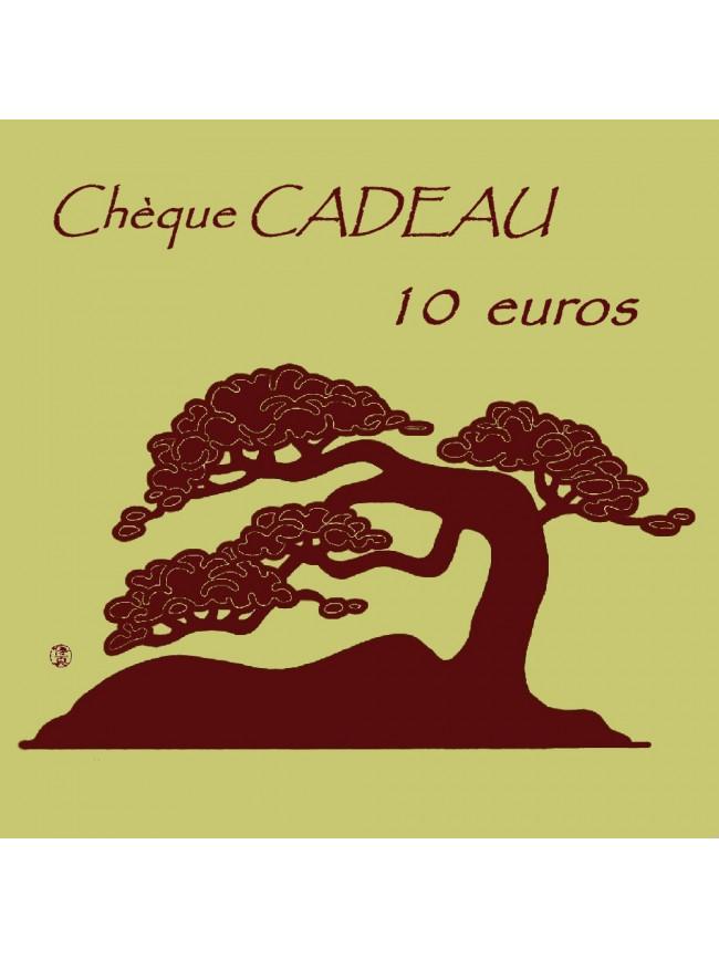 Chèque CADEAU 1