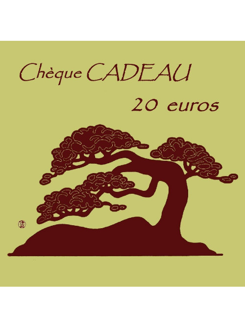 Chèque CADEAU 20€